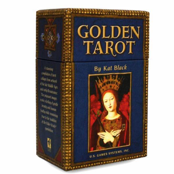 Golden Tarot Kat Black