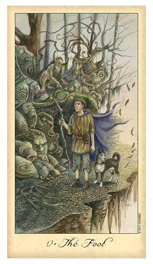 The-Fool-Ghosts-Spirits-Tarot