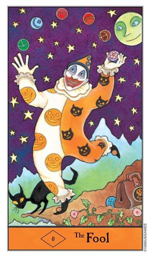 The-Fool-Halloween-Tarot-Deck