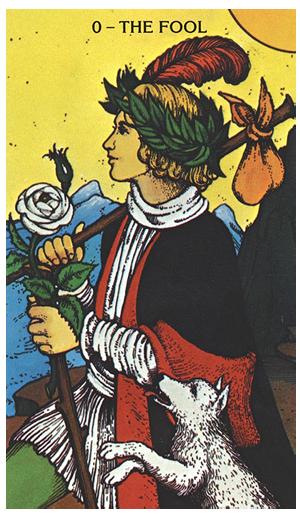 The-Fool-Morgan-Greer-Tarot-Deck