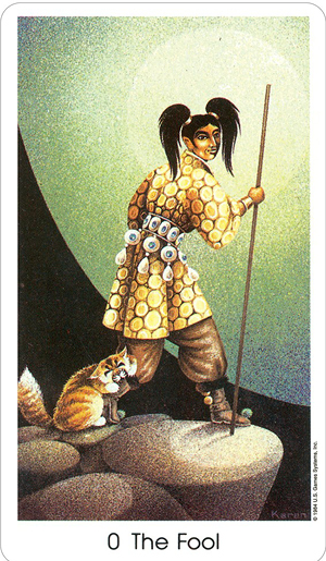 The-Fool-Tarot-of-the-Cat-People-Deck