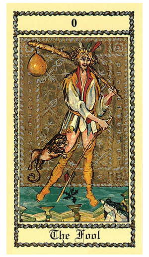 The-Fool-The-Medieval-Scapini-Tarot