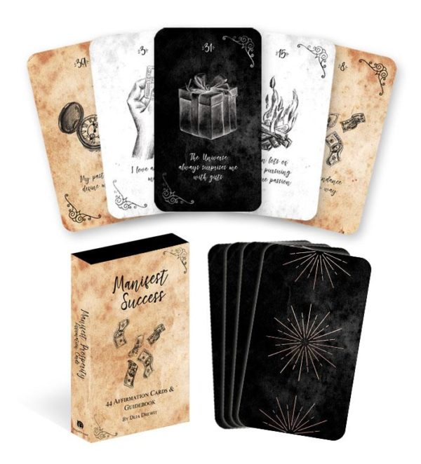 Manifest Success Affirmation Cards