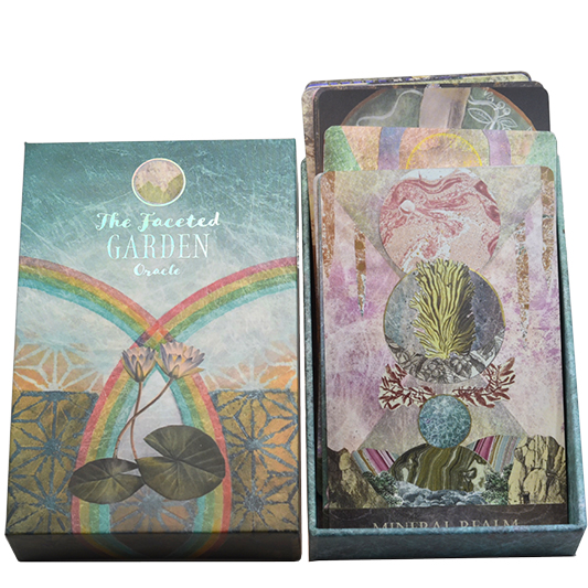 The Faceted Garden oracle deck 1